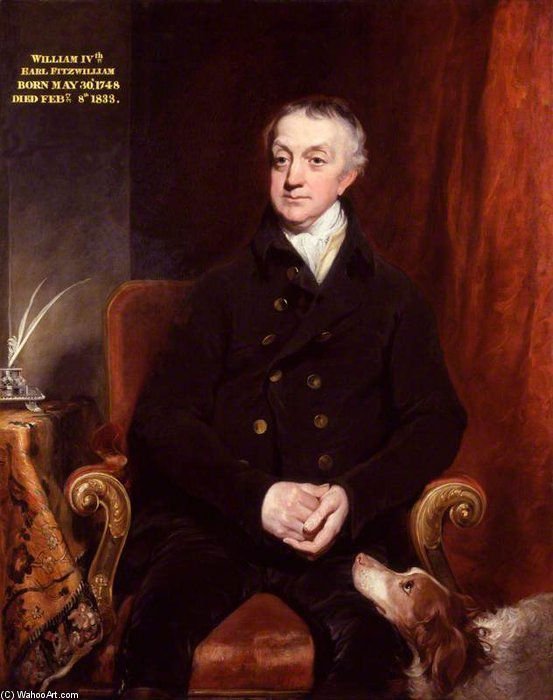 Wentworth Fitzwilliam, 2nd Earl Fitzwilliam by William Owen (1769-1825, United Kingdom)