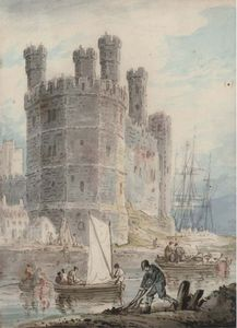 William Payne - Caernarvon Castle, Wales