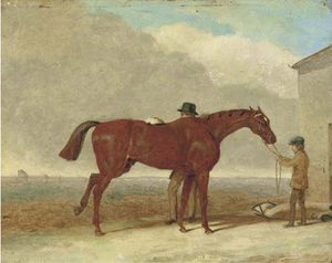 Abraham Cooper - Epsom Downs, Before The Race