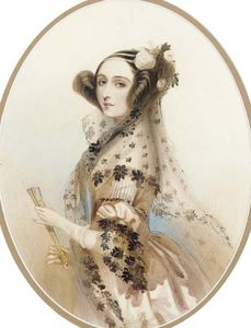Alfred Edward Chalon - Ada, Countess Of Lovelace