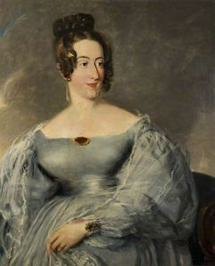 Order Art Reproduction : Sarah Dorothy Hall by Alfred Edward Chalon (1780-1860, Switzerland) | WahooArt.com
