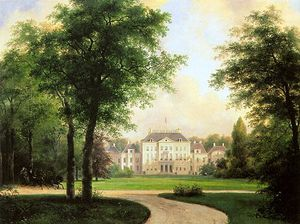 Andreas Schelfhout - Het Loo Palace