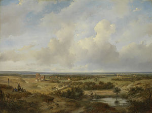 Andreas Schelfhout - View Of Haarlem