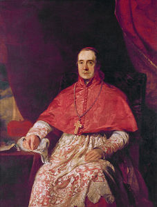 Andrew Geddes - Cardinal Thomas Weld