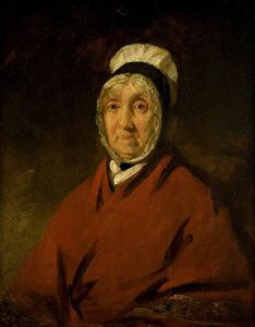 Andrew Geddes - Portrait Of An Old Scottish Lady