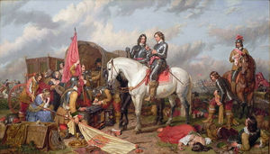 Charles Landseer - Cromwell Battle Of Naseby