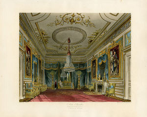Charles Wild - Ante Chamber, Carlton House