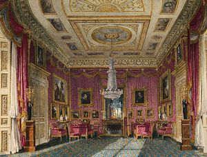 Charles Wild - Carlton House, Rose Satin Drawing Room