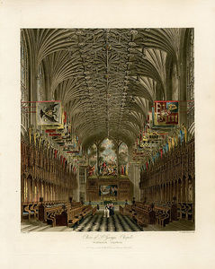 Charles Wild - Choir Of St George's Chapel, Windsor Castle