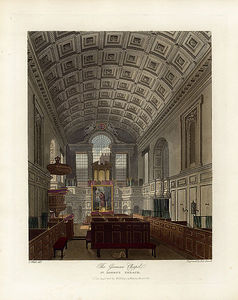 Charles Wild - German Chapel, St James's Palace