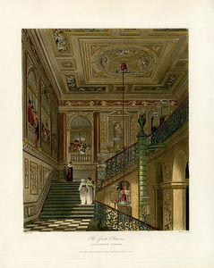 Charles Wild - Great Staircase, Kensington Palace