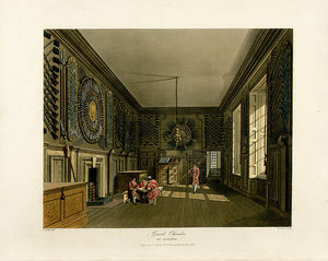 Charles Wild - Guard Chamber, St James-s Palace