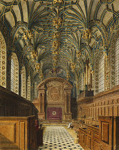 Charles Wild - Hampton Court Palace, Chapel