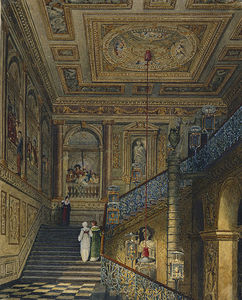 Charles Wild - Kensington Palace, Great Staircase