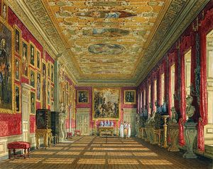 Charles Wild - Kensington Palace, King's Gallery