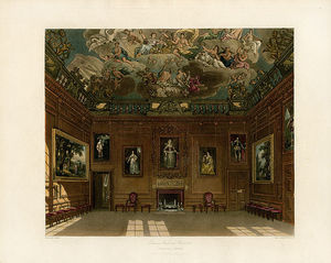 Charles Wild - Queen's Audience Chamber, Windsor Castle