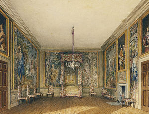 Charles Wild - St James's Palace, Old Bed Chamber
