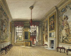 Charles Wild - St James-s Palace, Queen-s Levee Room
