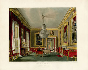 Charles Wild - West Ante Room, Carlton House