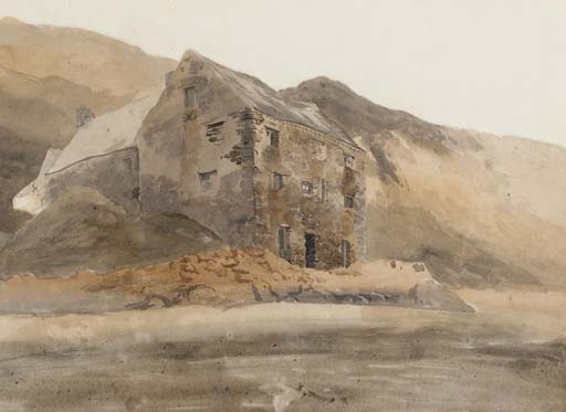 A Welsh Mine by Cornelius Varley (1781-1873, United Kingdom) | Museum Quality Reproductions | WahooArt.com