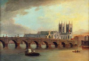 Daniel Turner - Westminster Bridge And Abbey