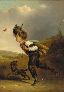 Edmund Bristow - Chasing The Butterfly; And Catching A Bird