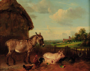 Edmund Bristow - The Farmyard