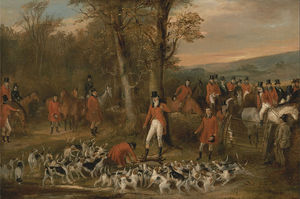 Francis Calcraft Turner - The Berkeley Hunt -