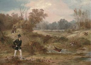 Francis Calcraft Turner - The Woodcock Shoot