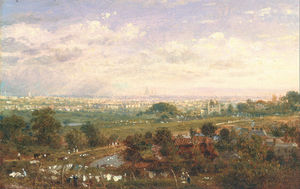 Frederick Nash - London From Islington Hill