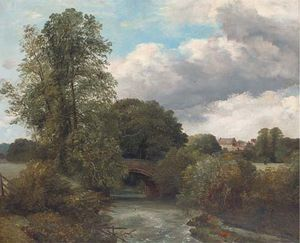 Frederick Richard Lee - A Trout Stream