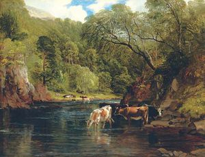 Frederick Richard Lee - The River Awe, Argyleshire