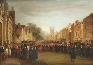 George Jones - The Visit Of The Prince Regent To Oxford