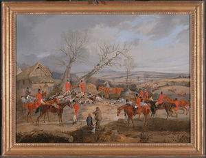 Henry Thomas Alken - Hunting Scene- The Kill