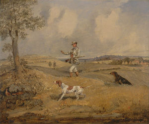 Henry Thomas Alken - Partridge Shooting