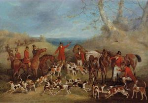 Henry Thomas Alken - The Belvoir Hunt - The Death