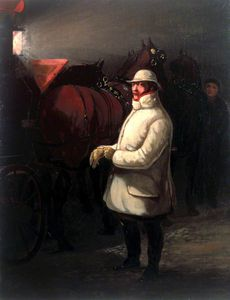 Henry Thomas Alken - The Driver Of The Mail