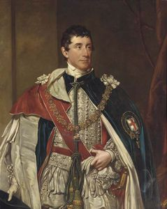Henry William Pickersgill - Portrait Of Thomas Thynne, The Second Marquis Of Bath, Three-quarter-length, In Garter Robes