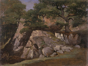 James Arthur O Connor - A View Of The Valley Of Rocks Near Mittlach