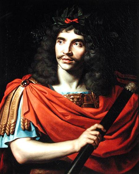 Moliere In The Role Of Caesar In 'the Death Of Pompe by Nicolas Mignard Dit Mignard D'avignon (1606-1668)