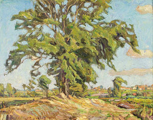 Nikolai Aleksandrovich Tarkhov - Tree Outside The Village