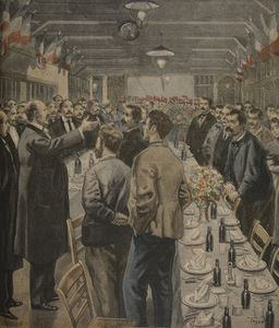 Oswaldo Tofani - Dinners For The Workers Of The Exposition