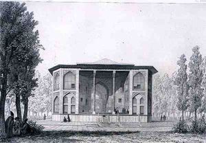 Pascal Xavier Coste - Pavilion Of The Eight Paradises, In Isfahan