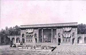 Pascal Xavier Coste - Throne Pavilion, In Teheran