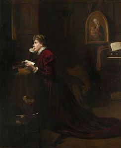 Patrick William Adam - Mary, Queen Of Scots, At Prayer