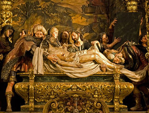 Pedro Roldan - Entombment Of Christ, Hospital De La Caridad, Seville