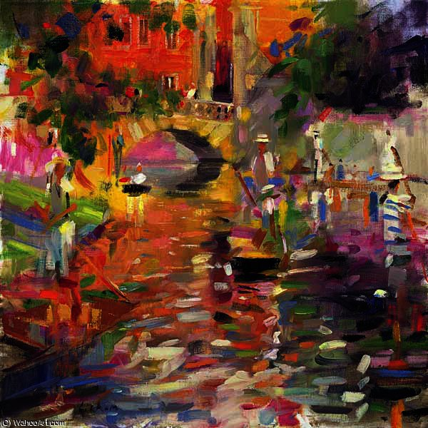 Summer Heat By Peter Graham Ii Oil Painting