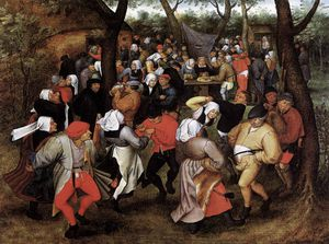 Pieter The Younger Holsteyn - Peasant Wedding Dance
