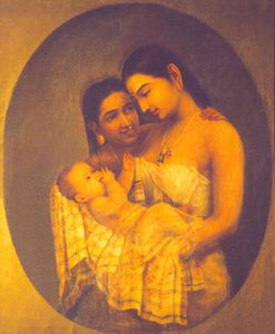 Raja Ravi Varma - Mother And Child