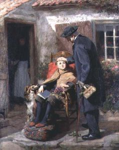 Ralph Hedley - The Convalescent Or The Pastor
